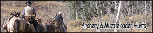 Archery and Muzzleloader Rut Hunts