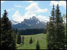 The Castles in the West Elk Wilderness